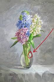 Drawings Of Flowers In A Vase How To Paint The Glass Or How To Make A Vase Glass
