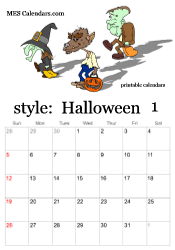 free printable halloween calendars october calendars to print