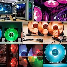 120mm rgb case fan cooler master masterfan pro 120 air pressure rgb 120mm static