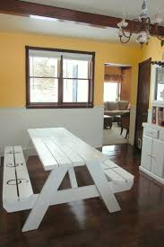 home design trendy indoor picnic table dining cool plans