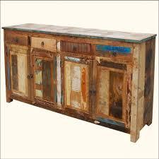 Reclaimed Sideboard Distressed Buffet Sideboard Weathered Rustic Reclaimed Wood 73