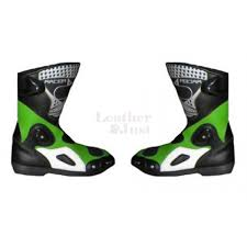 motorcycle racing shoes leather jackets kawasaki motorcycle racing biker leather suit