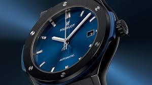 blue titanium bracelet hublot images Classic fusion ceramic blue 45mm jpg