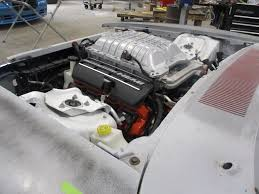 Dodge Challenger Engine Swap - 1969 dodge charger body dropped onto challenger hellcat shell 6 2