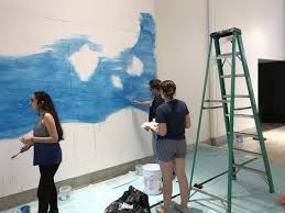 a mural for a cause takes shape at garden state plaza