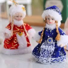 cheap fashion small ceramic christmas ornaments modern porcelain