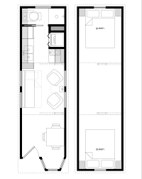 4 Bedroom Tiny House Sample Floor Plans For The 8 28 Coastal Cottage Tiny House