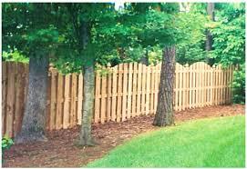 Backyard Fencing Ideas Backyards Gorgeous Archaicfair Backyard Fence Ideas Design And