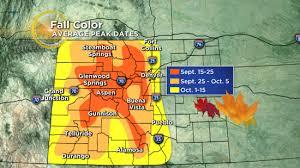 colorado u0027s fall color show appears schedule cbs denver