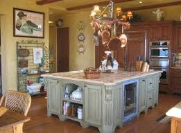 kitchen cool rustic kitchen island design and 8 chairs with white