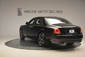 roll royce ghost all black 2017 rolls royce ghost black badge stock r422 for sale near