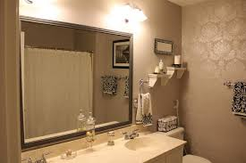 Bathroom Wall Mirror Ideas Mesmerizing Decorating Bathroom Mirrors Ideas Widaus Home