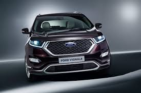 suv ford ford edge vignale premium suv unveiled ford authority