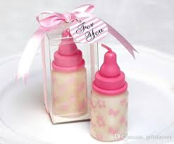 candle baby shower favors handmade 3d milk bottle fragrance candle decoration baby shower
