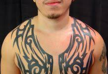 superman n on chest tattoos book 65 000 tattoos