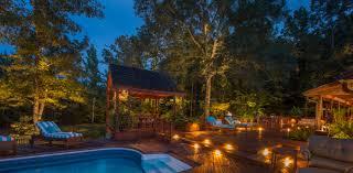 outdoor lighting backyard retreat