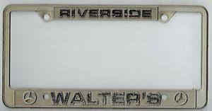 walters mercedes riverside ca riverside california walter s mercedes vintage dealer license