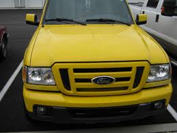 Yellow Ford Ranger Truck - amarillo06 2006 ford ranger regular cab specs photos
