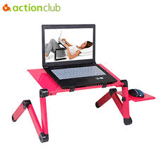 portable folding computer desk actionclub 360 degree adjustable laptop table portable foldable