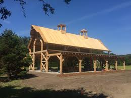 Monitor Style Barn by Timber Frame Design And Build Portfolio