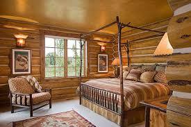 cabin themed bedroom rustic bedrooms design ideas canadian log homes