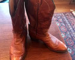 womens size 9 eee boots tony lama cowboy etsy