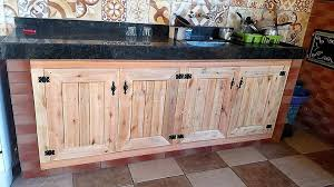 Kitchen Storage Cabinet Wooden Pallets Kitchen Storage Cabinets Pallet Ideas