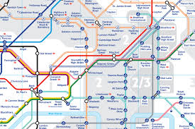 India Time Zone Map by Tfl Redraws Tube Map As Zone 2 Boundary Change Comes Into Effect