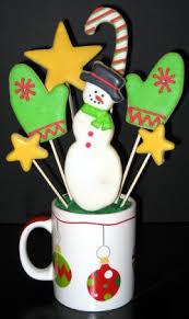 Cookie Arrangements Christmas Cookie Bouquets Create A Tasty Christmas Centerpiece