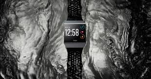 fitbit ionic smartwatch first look