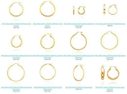 jewelry adviser gold hoop earrings