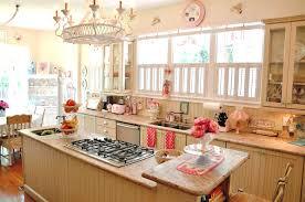 1950 kitchen design yellow and red 1950s retro inside decor