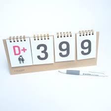 Diy Desk Calendar by How To Make A Standing Desk Calendar Decorative Desk Decoration