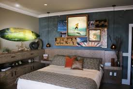headboard with built in bedside tables bedroom built in cabinets with floating bedside table and faux