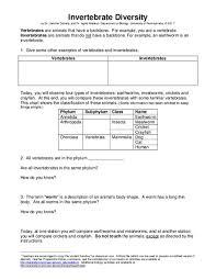 free printable worksheets vertebrates invertebrates free worksheets library download and print worksheets free on