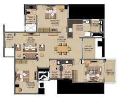 1950 sq ft 3 bhk 3t apartment for sale in sobha limited