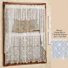 Fall Kitchen Curtains Vintage Kitchen Curtains Set Tiers Cafe Gallery With Fall Picture