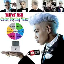 qoo10 best seller colour hair wax hair chalk rb silver ash