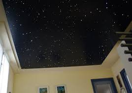 Twinkle Lights In Bedroom Fibre Optic Star Ceiling Led Light Panels Tiles Mycosmos