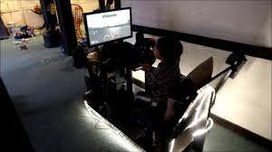 Gaming Chair Desk by Homemade Video Game Chair For Driving And Flying Simulations Youtube