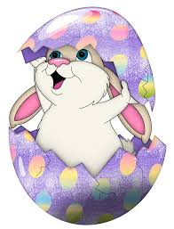 cute purple easter bunny in egg transparent png clipart gallery