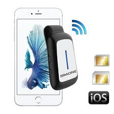 bluetooth adapter for desk phone blueclip dual sim bluetooth clip adapter online for iphone 6 6s se