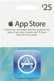 gift cards apps apple itunes app store 25 gift card usa almusaifer store