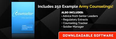 Army Counseling Magic Statement Counseling Statements Included Army Counseling
