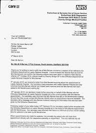 Complaints Letter To Hospital nhs complaints april 2015