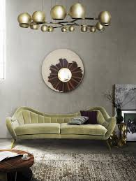 beautiful examples of how modern sofas and wall mirrors should match