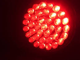 what is the difference between visible red light therapy and