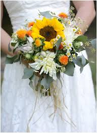 north carolina wedding with sunflower details the budget savvy bride
