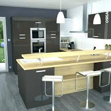 meuble de cuisine bar meuble cuisine couleur taupe bar cuisine ouverte meuble de cuisine