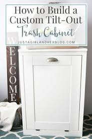 5 smart ways to hide your kitchen trash can diy cabinets